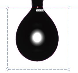 ペンダントドロップ法による表面張力計測